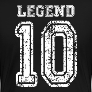 The LEGEND Number 10 Women's T-Shirts - Women's Premium T-Shirt
