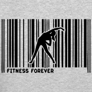 barcode sports fitness women 1 Long Sleeve Shirts - Crewneck Sweatshirt