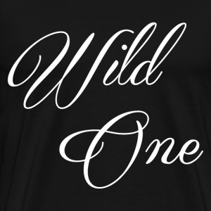 WILD ONE- COUPLE DESIGN MILD & WILD - Men's Premium T-Shirt
