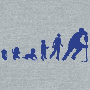 baby evolution hockey inline skating T-Shirts - Unisex Tri-Blend T-Shirt by American Apparel
