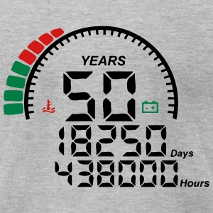 meter 50 years anniversary T-Shirts - Men's T-Shirt by American Apparel
