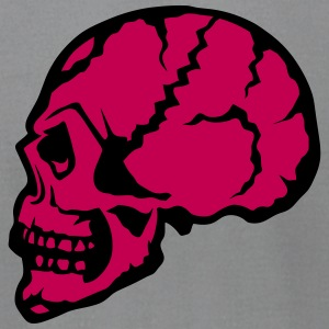 skull profile 1112 T-Shirts - Men's T-Shirt by American Apparel