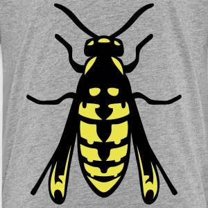 wasp fly insect 1112 Kids' Shirts - Kids' Premium T-Shirt