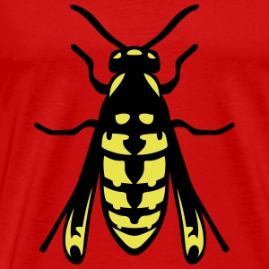 wasp fly insect 1112 T-Shirts - Men's Premium T-Shirt