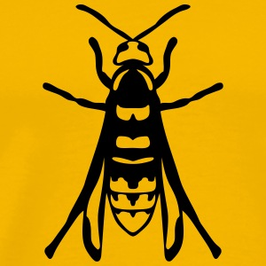 european hornet fly insect 1112 T-Shirts - Men's Premium T-Shirt