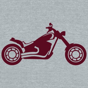 motocross motorcycle tourism 1112 T-Shirts - Unisex Tri-Blend T-Shirt by American Apparel