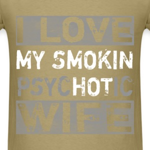 Lifestyle - Smokin Wife - Men's T-Shirt