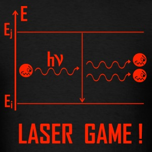 Laser Game R - Men's T-Shirt