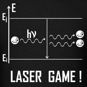 Laser Game W - Men's T-Shirt