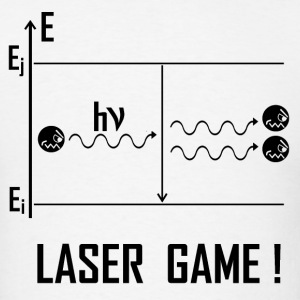 Laser Game B - Men's T-Shirt
