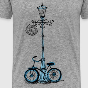 Light pole design - Men's Premium T-Shirt