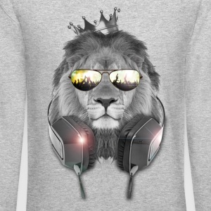 Lion Dj - King Party - Crewneck Sweatshirt