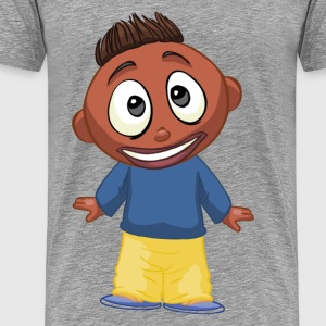 Cartoon children funny T-Shirts - Men's Premium T-Shirt