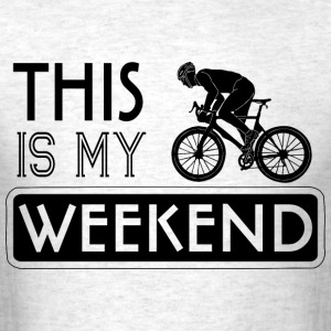 Weekend Cyclist Shirt - Men's T-Shirt