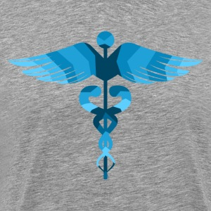 Beautiful concept medical colorful world health  T-Shirts - Men's Premium T-Shirt