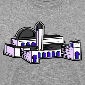 Cartoon mosque art T-Shirts - Men's Premium T-Shirt
