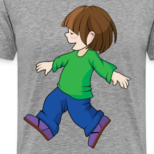 Happy childhood design T-Shirts - Men's Premium T-Shirt