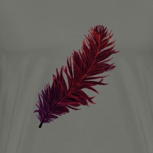 Men's Premium Feather Tee - Men's Premium T-Shirt