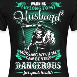 *Original Version* I BELONG TO MY HUSBAND - Women's Premium T-Shirt