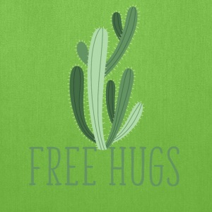 free hugs cactus Bags & backpacks - Tote Bag