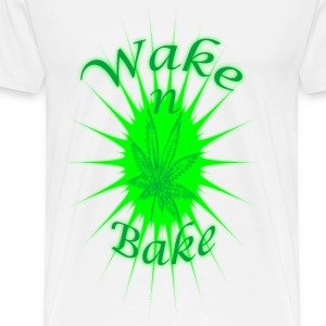 Wake N Bake - Men's Premium T-Shirt