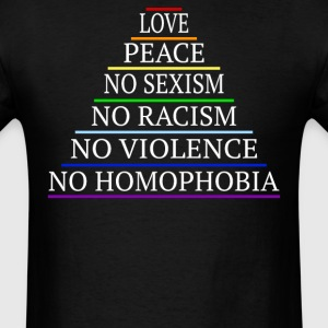 No Sexualism LGBT Shirt - Men's T-Shirt
