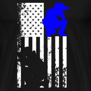 Photographer Flag Shirt - Men's Premium T-Shirt