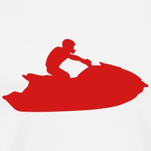 jet ski freestyle 4 T-Shirts - Men's Premium T-Shirt