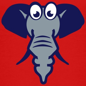elephant funny cartoon character 2_1110 Kids' Shirts - Kids' Premium T-Shirt