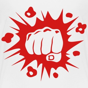 face fist blow 11092 Kids' Shirts - Kids' Premium T-Shirt
