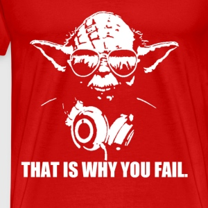 Yoda - Fail - Men's Premium T-Shirt