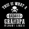 Badass Grandpa Looks Like T-Shirts - Men's Premium T-Shirt