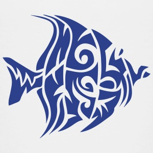 11072 tribal exotic fish Kids' Shirts - Kids' Premium T-Shirt