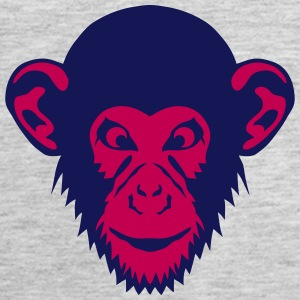 monkey chimpanzee 1107 Tanks - Women's Premium Tank Top
