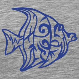 11073 tribal exotic fish T-Shirts - Men's Premium T-Shirt