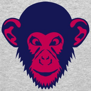 monkey chimpanzee 1107 Long Sleeve Shirts - Crewneck Sweatshirt