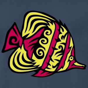 11074 tribal exotic fish T-Shirts - Men's Premium T-Shirt