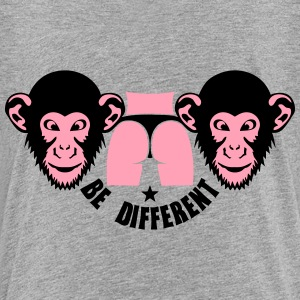 monkey be different sexy ass buttock Kids' Shirts - Kids' Premium T-Shirt