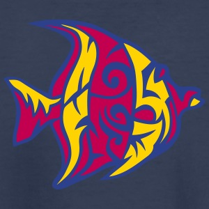 1107 exotic tribal fish Kids' Shirts - Kids' Premium T-Shirt