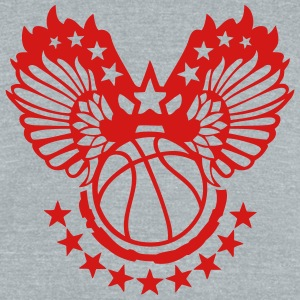 basketball sports flying wing 2 T-Shirts - Unisex Tri-Blend T-Shirt by American Apparel