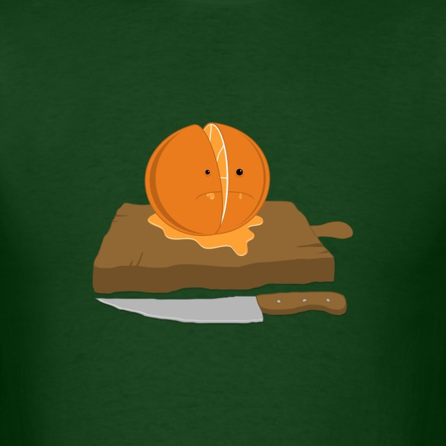 Orange Slice Men's T-Shirt