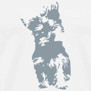 yorkshire terrier dog 2 T-Shirts - Men's Premium T-Shirt