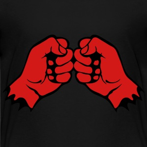 face fist bumps 1106 Kids' Shirts - Kids' Premium T-Shirt