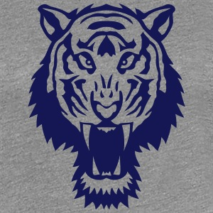 tiger wild animal 1106 T-Shirts - Women's Premium T-Shirt