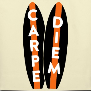 AD Surfboard Carpe Diem Bags & backpacks - Eco-Friendly Cotton Tote