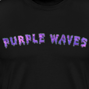 purple waves t shirt - Men's Premium T-Shirt