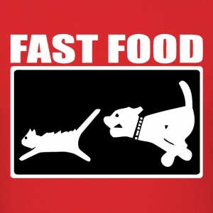 Fast food parody - Men's T-Shirt