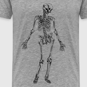 Hand drawn skeleton sample T-Shirts - Men's Premium T-Shirt