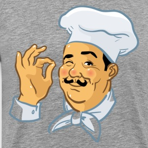 Fatty chef cartoon T-Shirts - Men's Premium T-Shirt