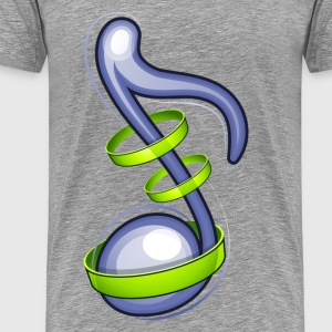 Musical note background T-Shirts - Men's Premium T-Shirt